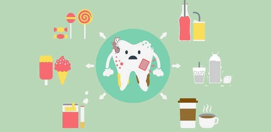 مراقبت های بعد از سفید کردن دندان